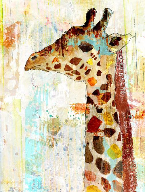 Giraffe by John Baran