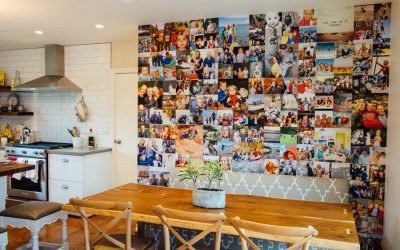 Tracewell Family LOVES Living with their Photo Wall Mural