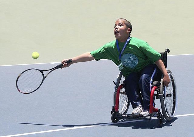 Junior Wheelchair Sports Camp at UCSB - Photo by David Powdrell